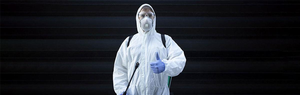 Desinfecção de condomínio contra coronavírus