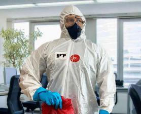Higienização Coronavírus em clínicas e consultórios