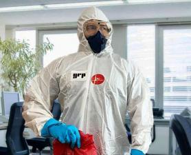 Higienização Coronavírus em empresas