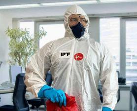Higienização Coronavírus em lojas