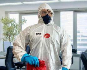 Limpeza Coronavírus em lojas